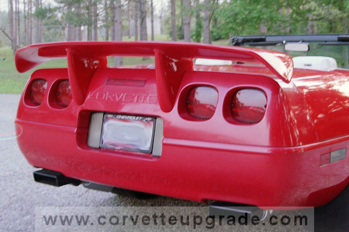 1984 C4 Corvette >> C4 Corvette 84-96 C4R Rear Wing - Corvette Upgrade