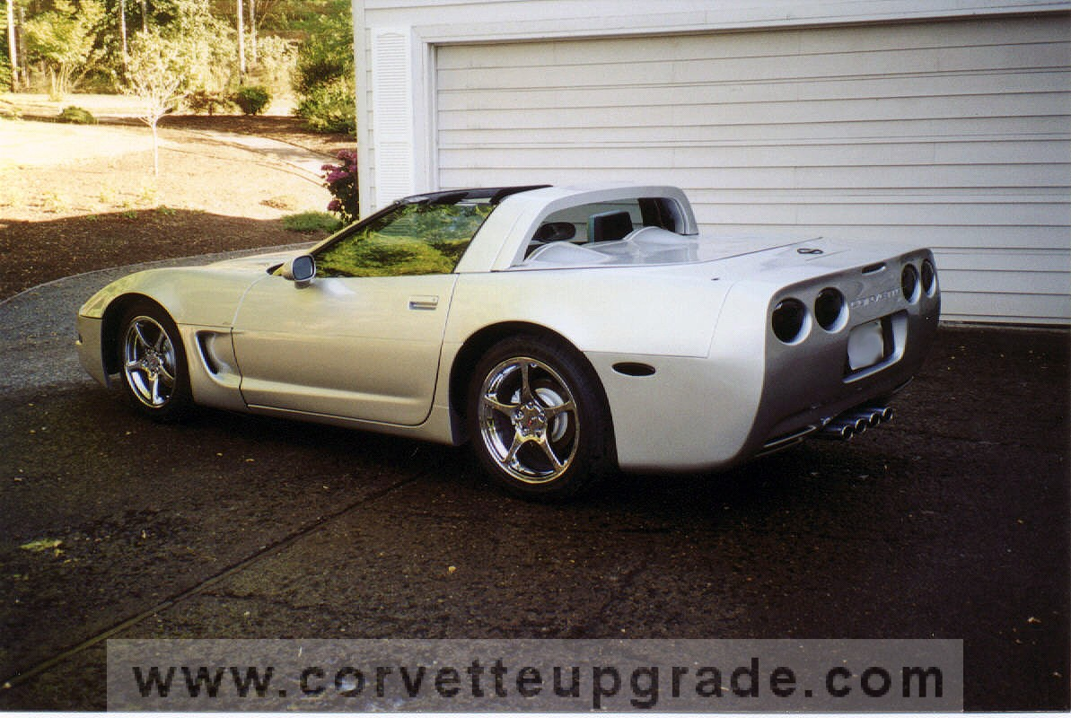 C5 Corvette 97 04 Speedster Hatch Conversion Corvette Upgrade
