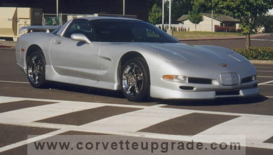 C5 Corvette 1997-04 GC5 Ground Effects Kit w/Wing ...