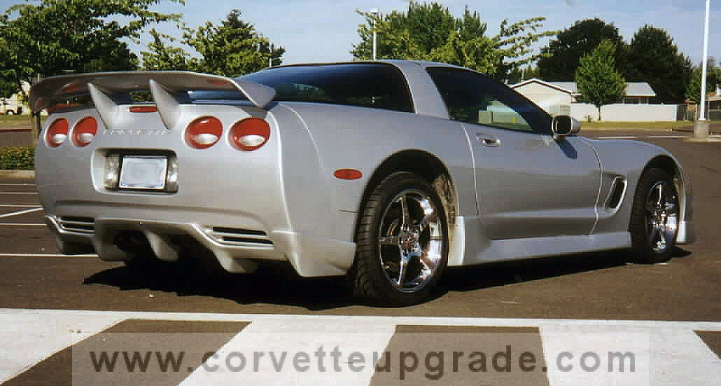 C5 Corvette 1997-04 GC5 Ground Effects Kit w/Wing