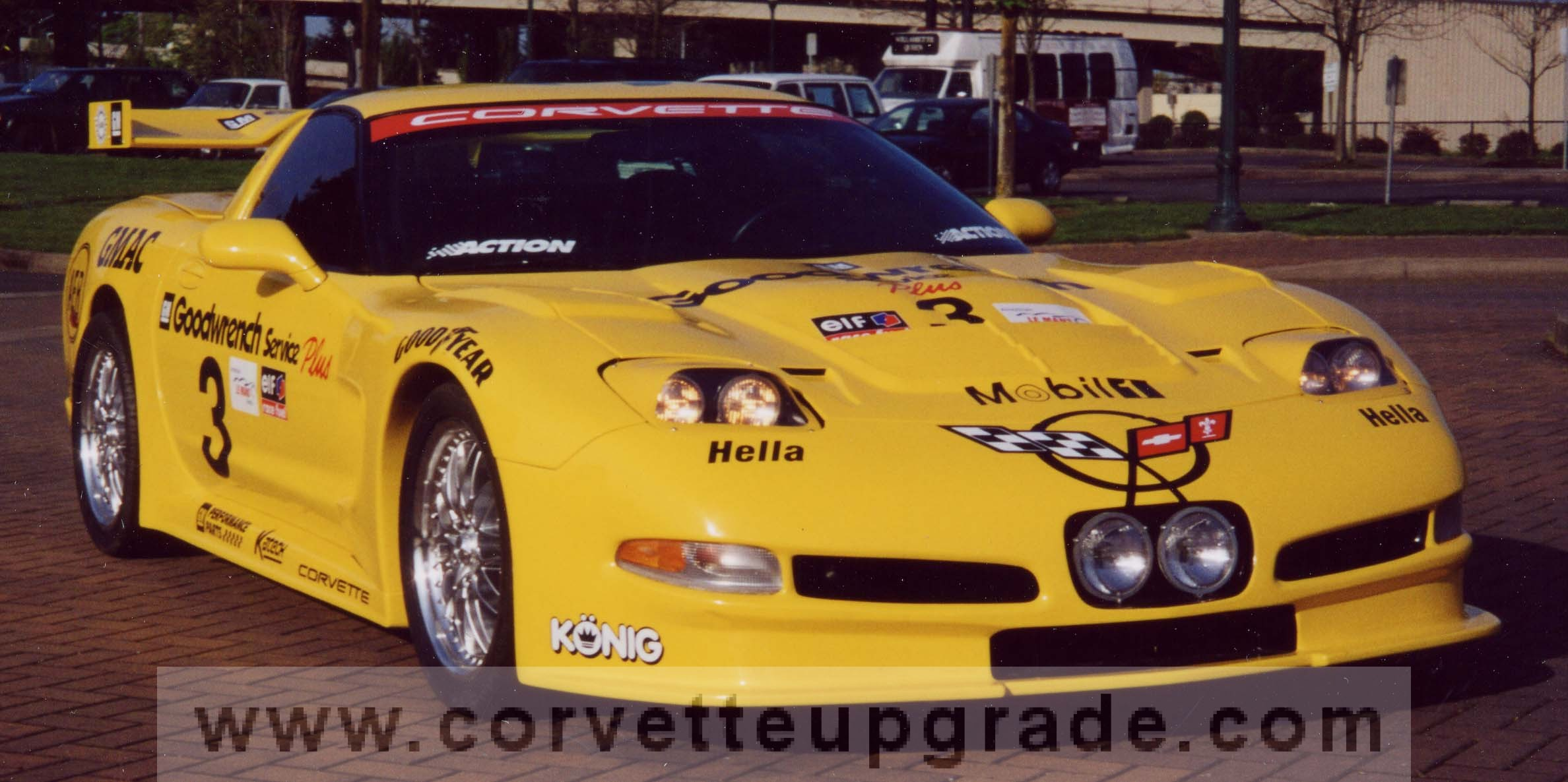 C5 Corvette 97-04 C5R Le Mans Race Car Kit (fiberglass rear wing)