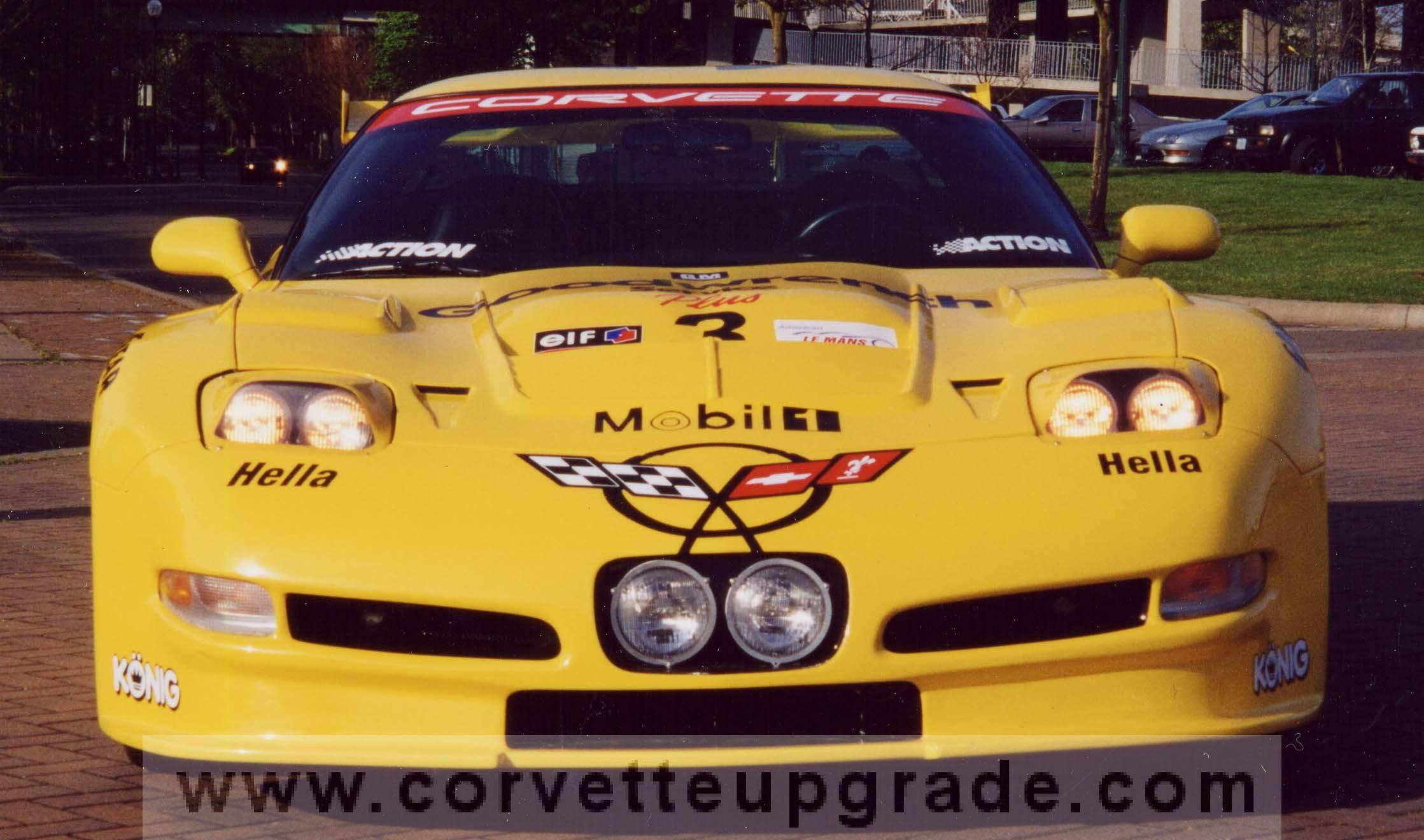 Race Car Jackets >> C5 Corvette 97-04 C5R Le Mans Race Car Kit (without rear wing) - Corvette Upgrade