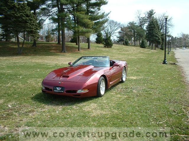 C4 Corvette 1984-96 Viper Style Hood Scoop