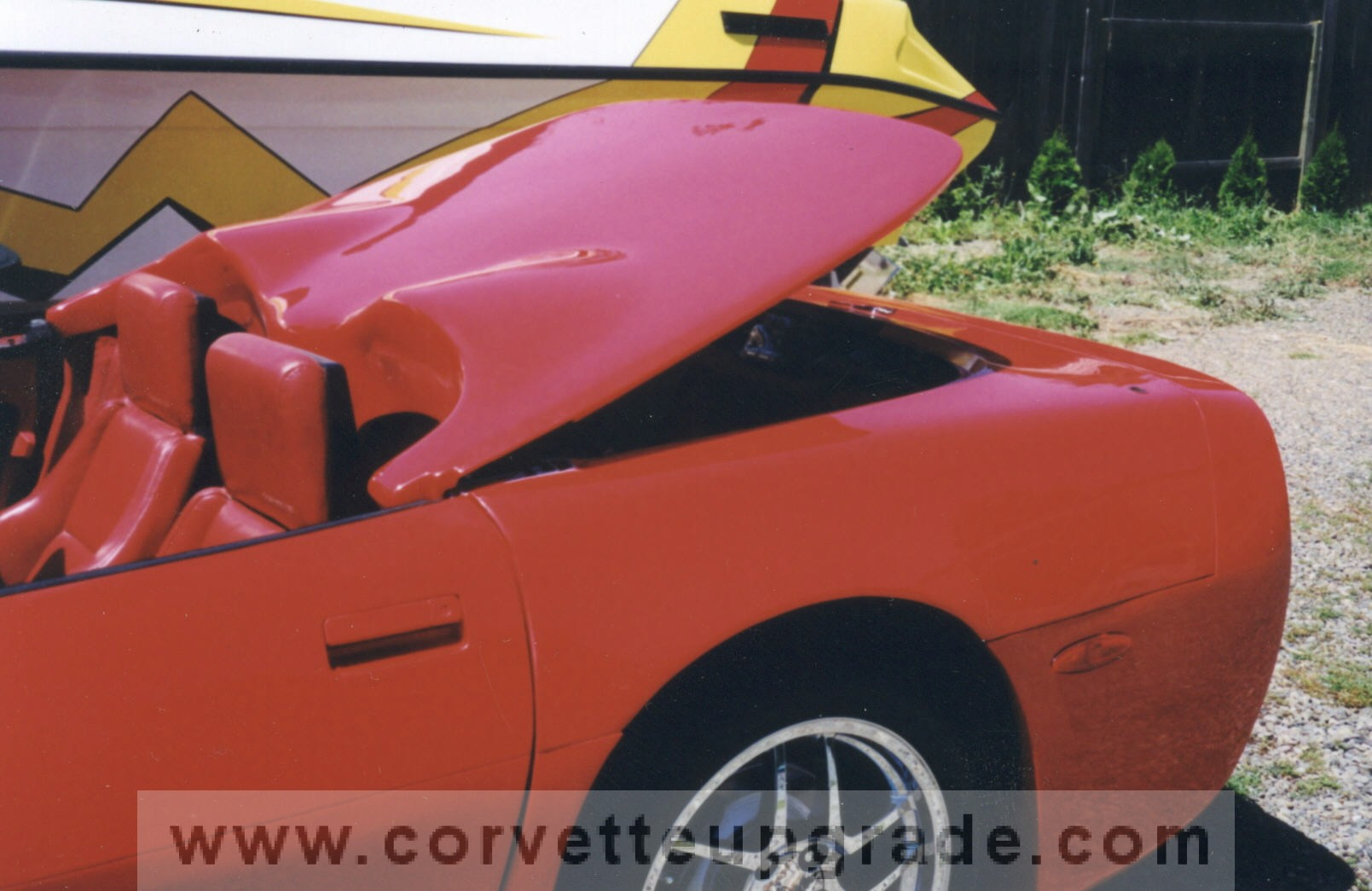 C4 Corvette 1984-96 Coupe to Convertible Hatch Conversion