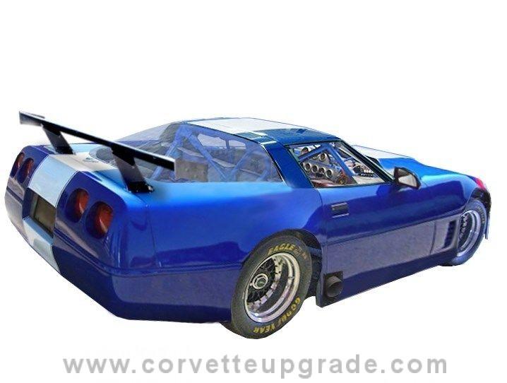 C4 Corvette 1984 96 Gt1 Road Race Bodywork Corvette Upgrade